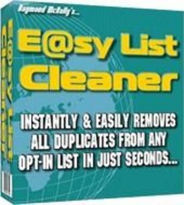 Product picture Easy List Cleaner