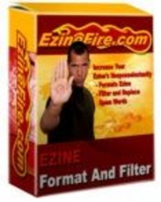 Product picture Ezine Format and Filter